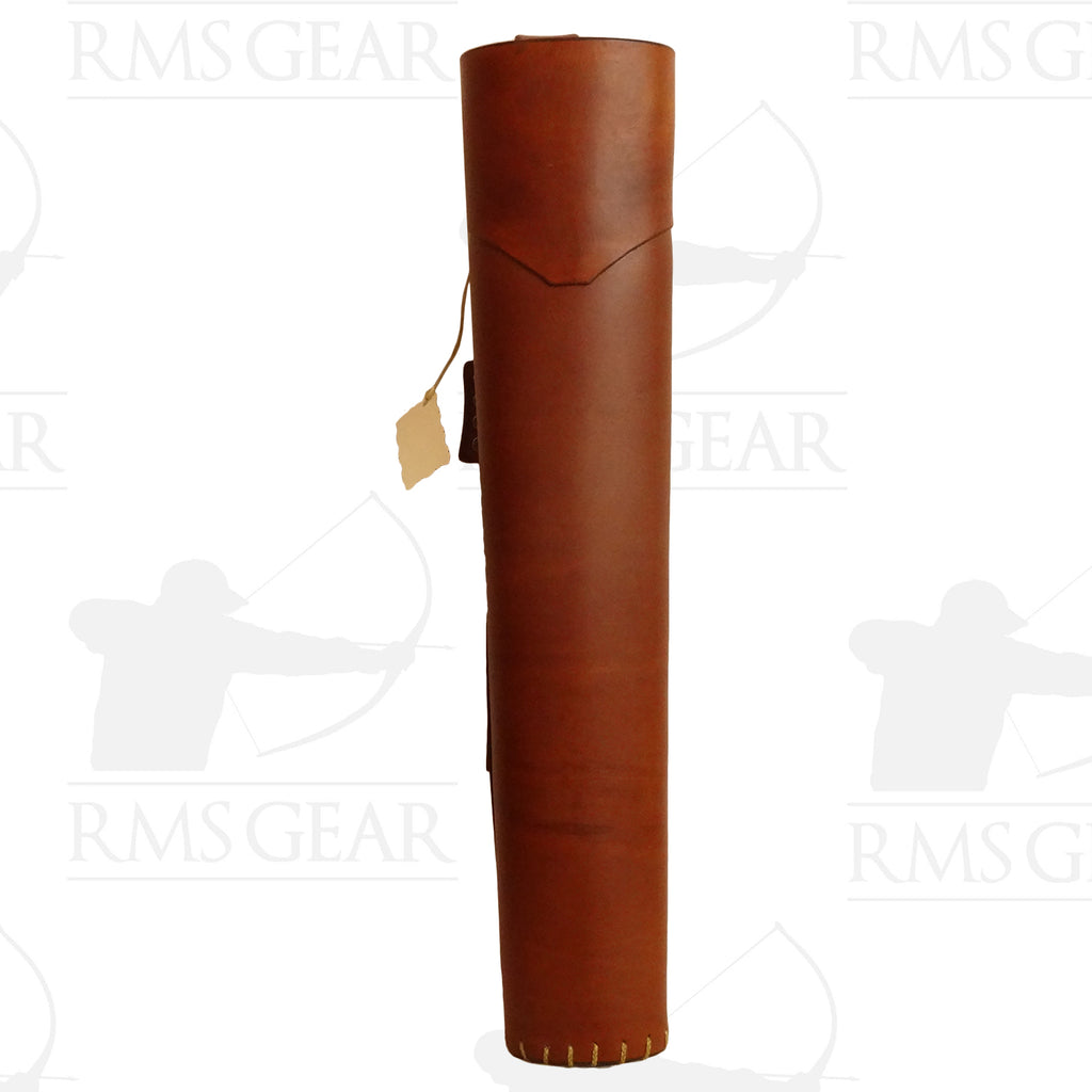 Base Camp Archery Leather Backquiver - BCA165LO