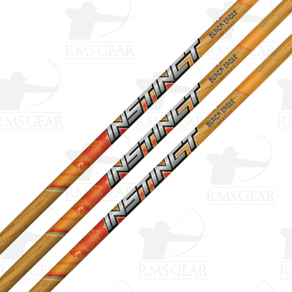 Black Eagle Instinct Traditional Shafts
