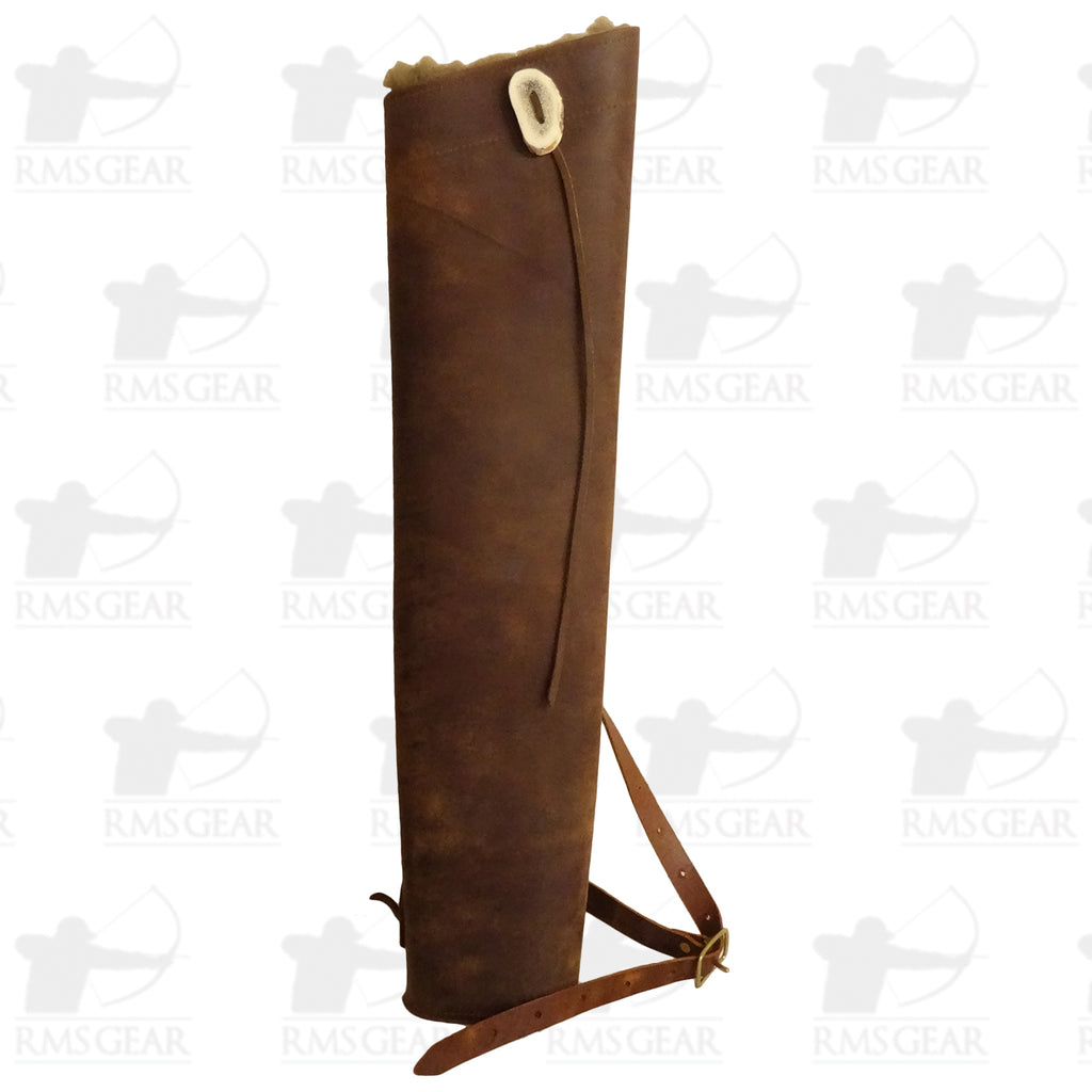 Leather Backquiver - LBQAN