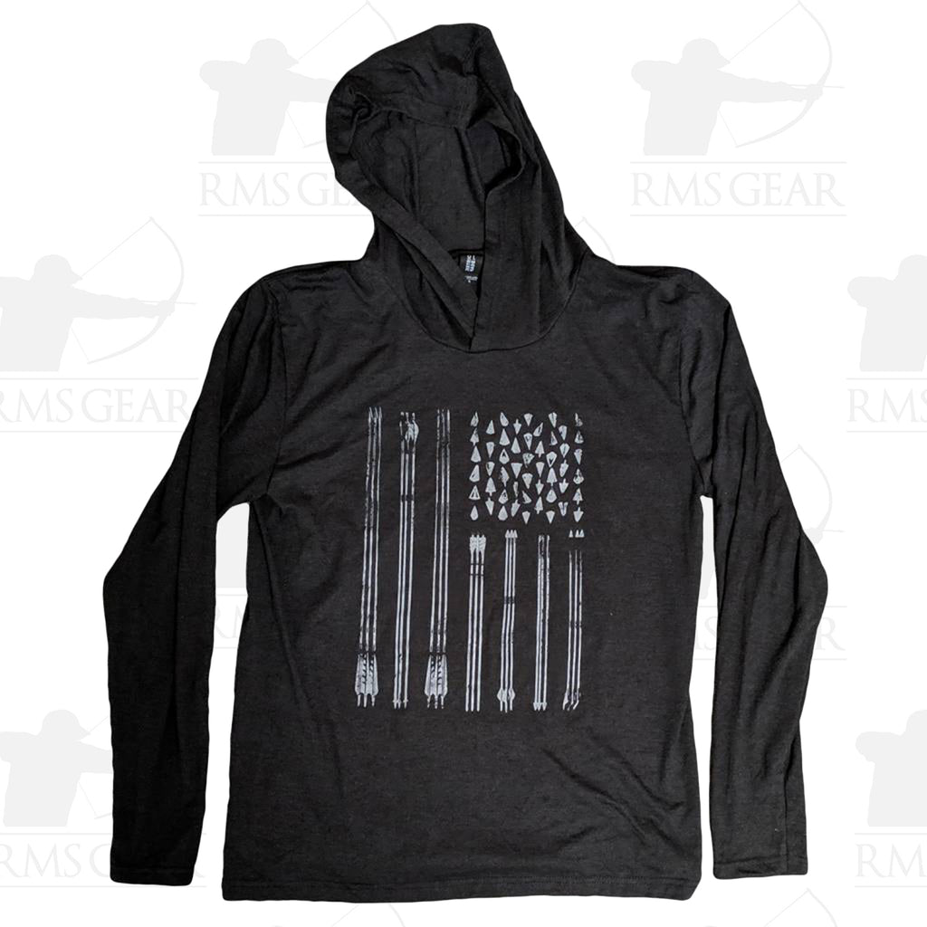 RMSGear Arrow Flag Long Sleeved Tee Hoody