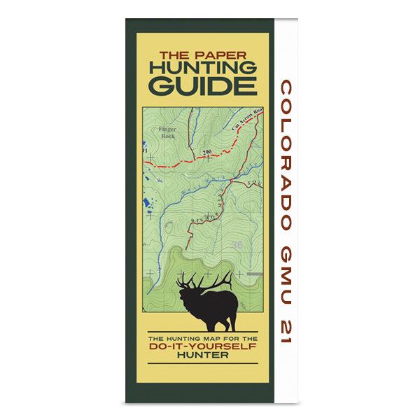 DIY Hunting Map - Colorado GMU 21