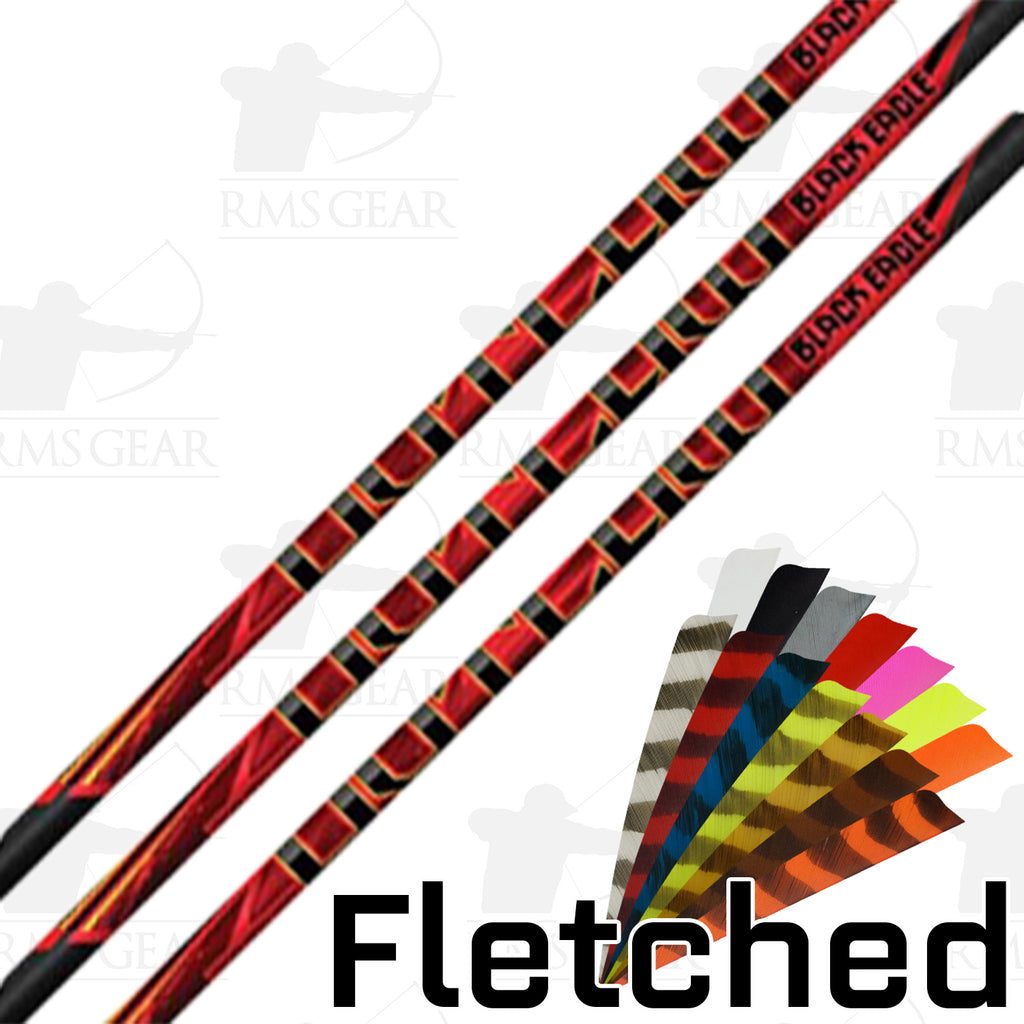 Black Eagle Outlaw Fletched Arrows