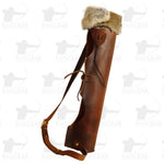 Lakota Out the Front Leather Quiver - USEDOTFMA