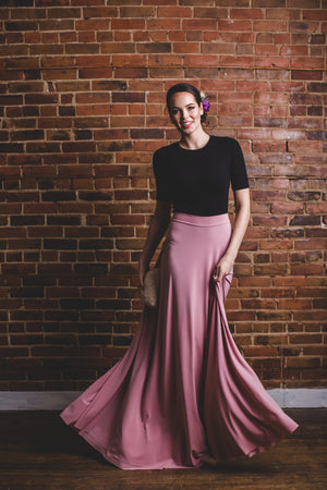 Erin Skirt Floor Length