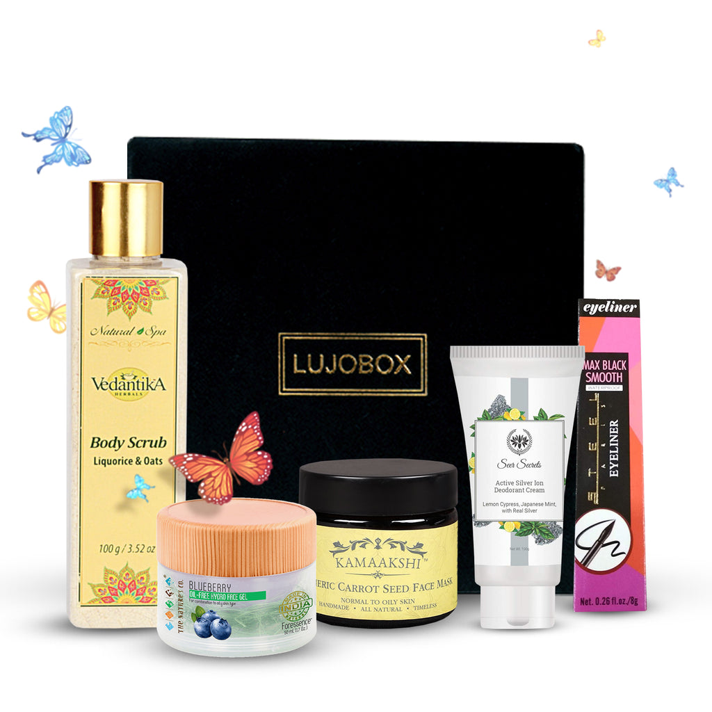 NEW LUJO Beauty Premium Box with 10% Discount June 2019| Unboxing & Review | Ekta