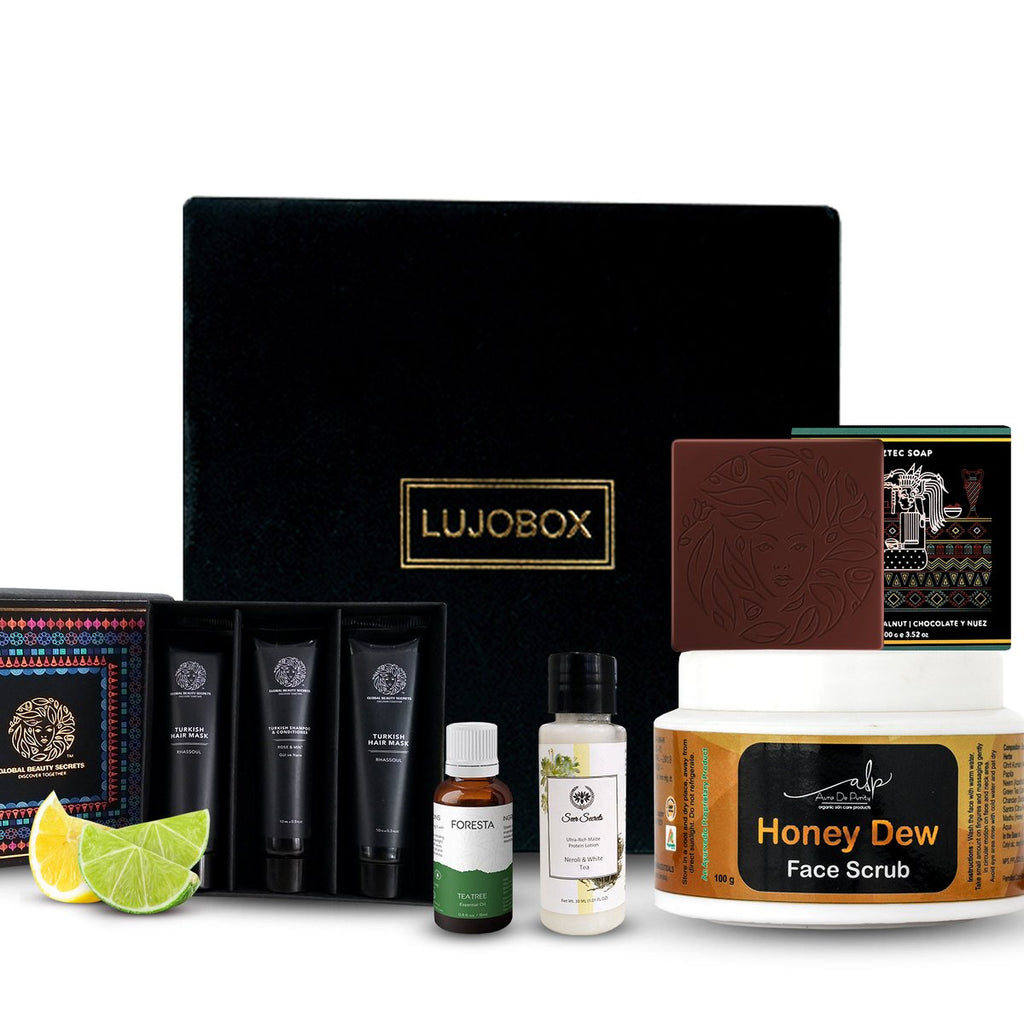 Lujobox Luxury Beauty Subscription Box India Review