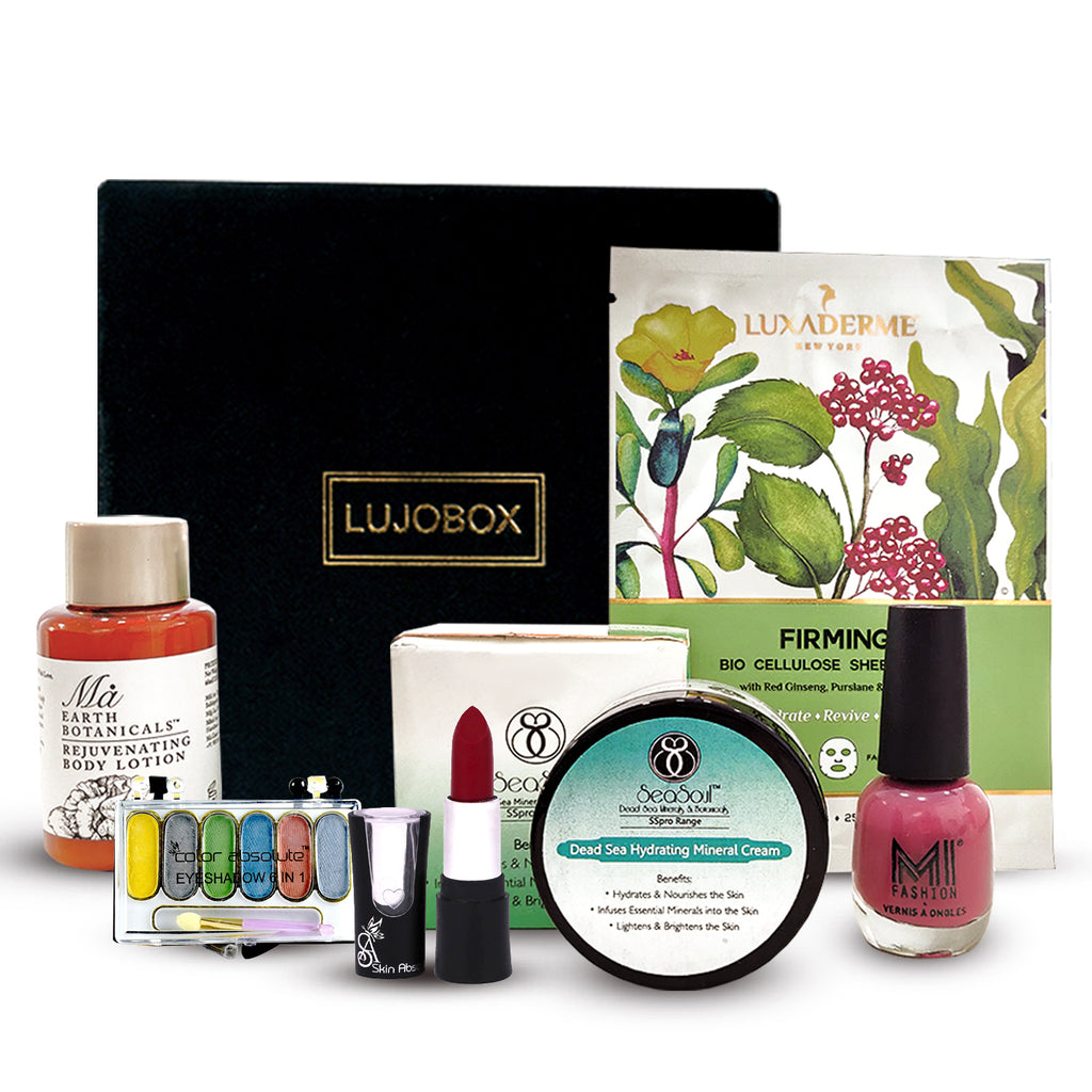 LUJOBOX MARCH EDITION - Lujo Box Beauty Box Subscription