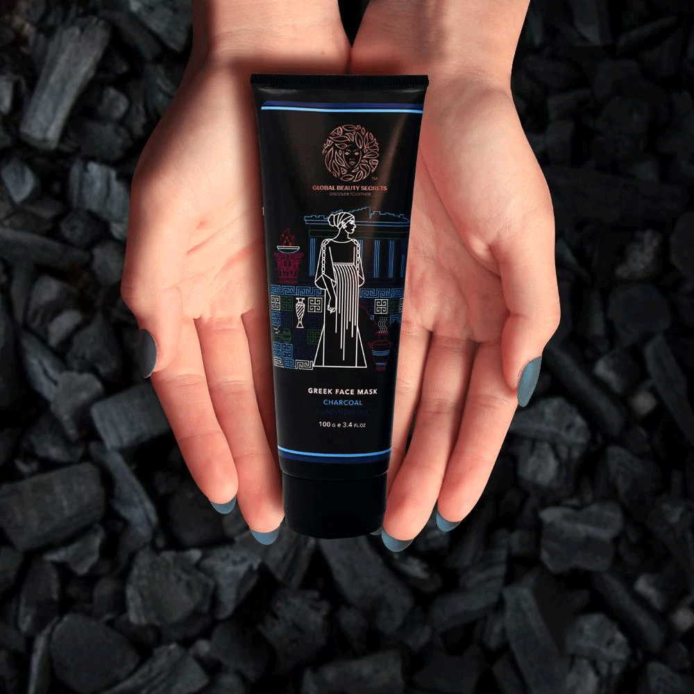 Global Beauty Secrets Greek Charcoal Face Mask