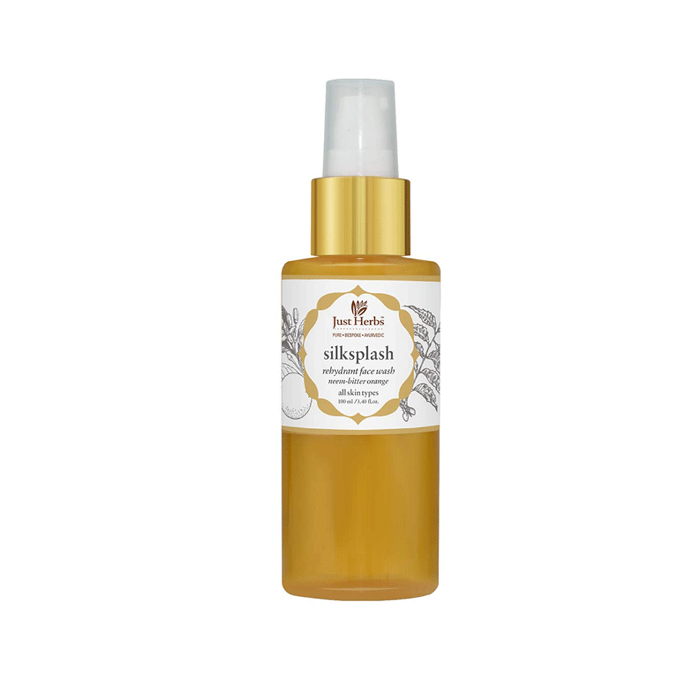 Just Herbs Silksplash Neem-Orange Rehydrant Ayurvedic Face Wash