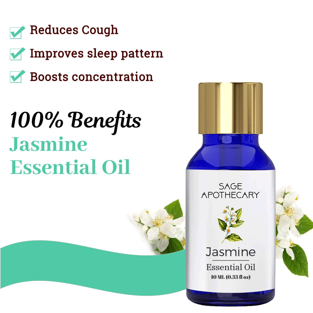 Sage Apothecary Jasmine Essential Oil