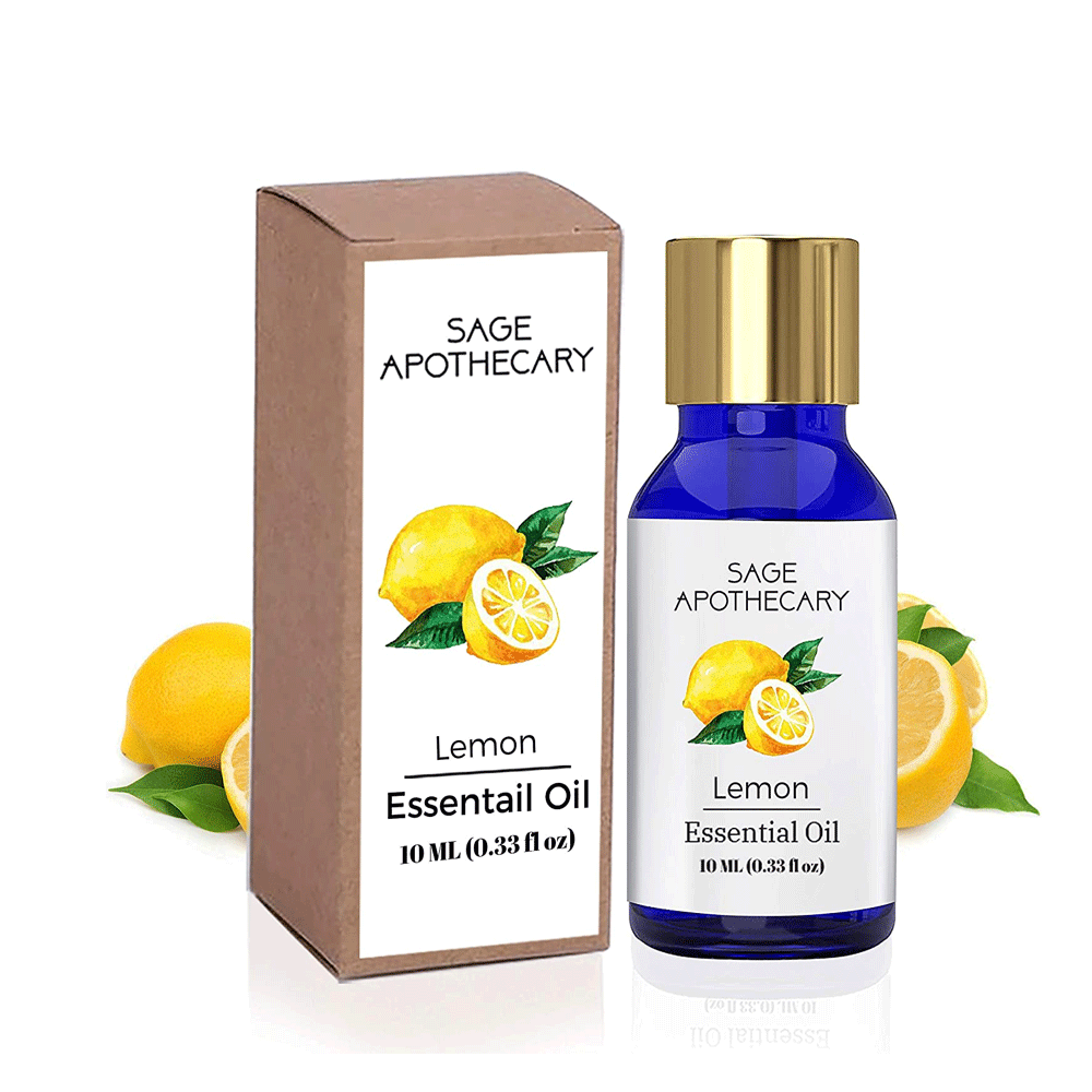 Sage Apothecary Lemon Essential Oil