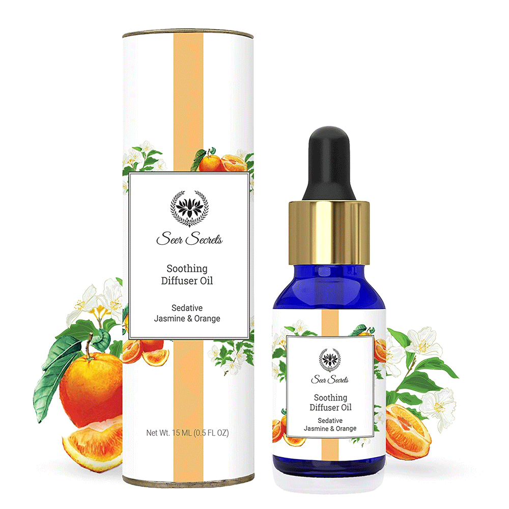 Seer Secrets Sedative Jasmine & Orange Soothing Diffuser Oil