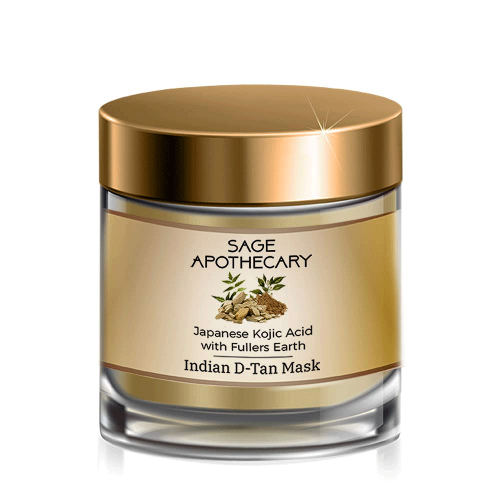 Sage Apothecary Indian D-Tan Mask