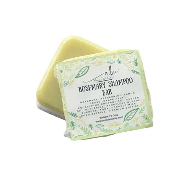 Green Rosemary Shampoo Bar - Lujo Box Beauty Box Subscription