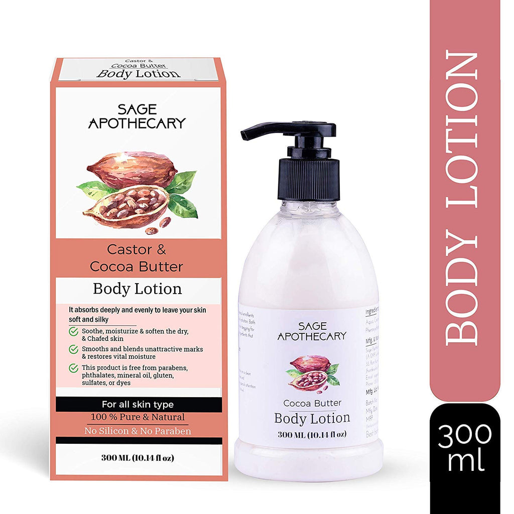 Sage Apothecary Cocoa Butter Body Lotion