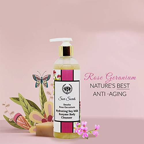 Seer Secrets Smoky Rose  Milk Enzyme Body Cleanser