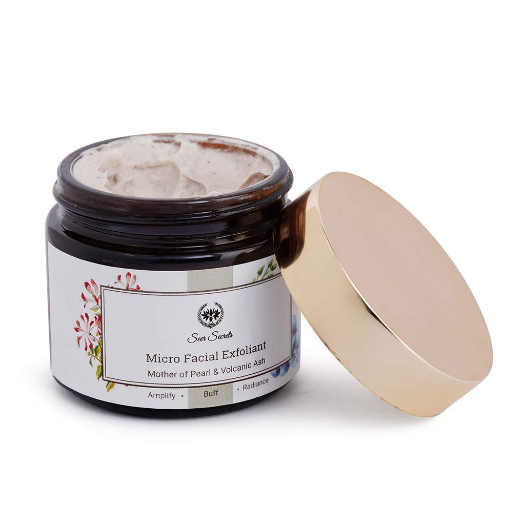 Seer Secrets Face Scrub (Mother of Pearl Micro Facial Exfoliant)
