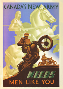 Canada's New Army – Canadian World War Two poster