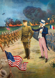 Berlin or Bust – US World War One poster