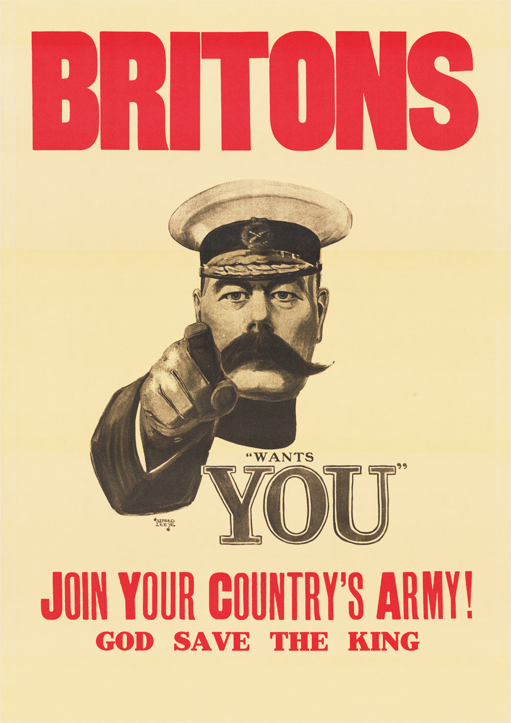 Britons: Lord Kitchener Wants You – British World War One poster