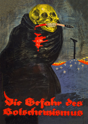 The Danger of Bolshevism – German poster