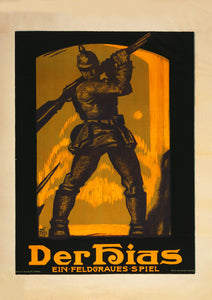 A play about soldiers – German World War One poster