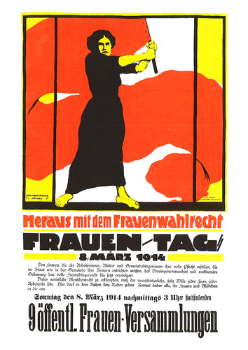 International Women's Day – German poster