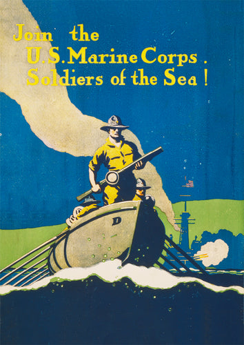 Join the US Marine Corps – US World War One poster