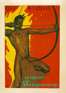 The ninth arrow – German World War One poster