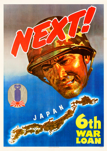Next! – US World War Two poster