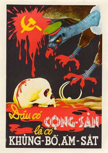 Communism Means Terrorism – US poster from Vietnam