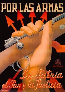 To arms! – Spanish Civil War poster