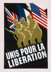 United for Liberation – British World War Two poster