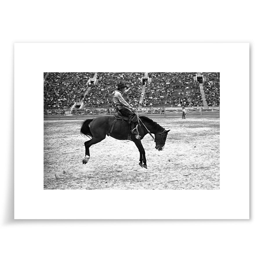 Rodeo Man on Horse 1938 - 6x9 Print