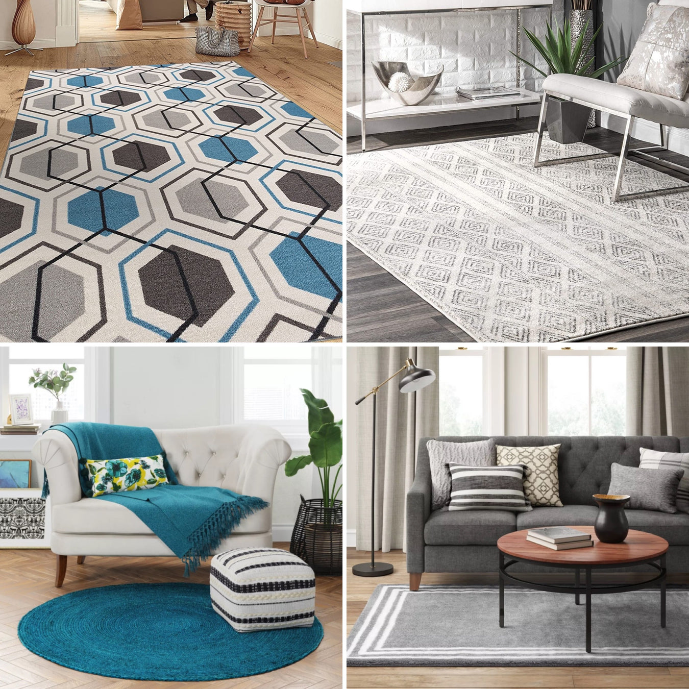 Hot Deal! Designer 5x8 Area Rugs $75 Each - Limited Qty!