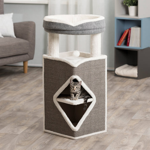 Trixie Arma Cat Tower Grey