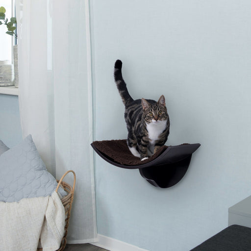 Trixie Wall Mounted Cat Bed Brown Furniture