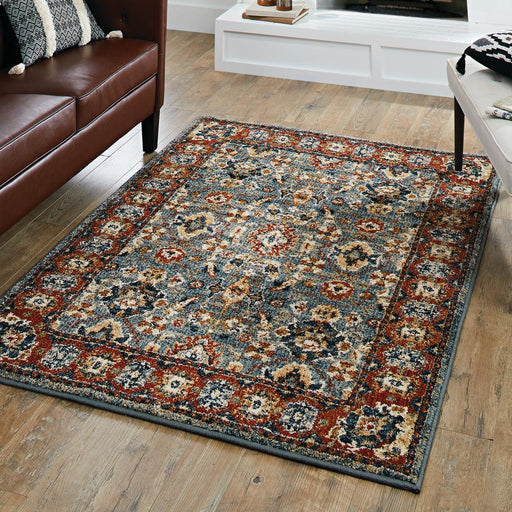 5x7 Better Homes & Gardens Persian Border Indigo Area Rug