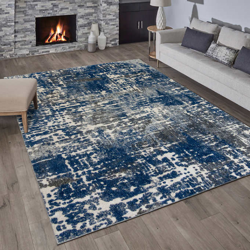 5x7 Sorrento Navy Area Rug