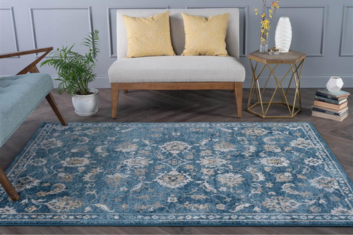 5x7 Tayse Vintage Distressed Area Rug