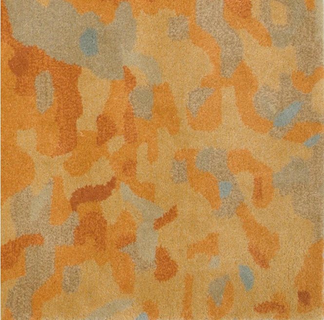 Watercolor Gold 3 ft. x 5 ft Rug By Home Decorators Collection