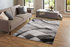 5x7 Abstract Hand Carved Polypropylene Area Rug