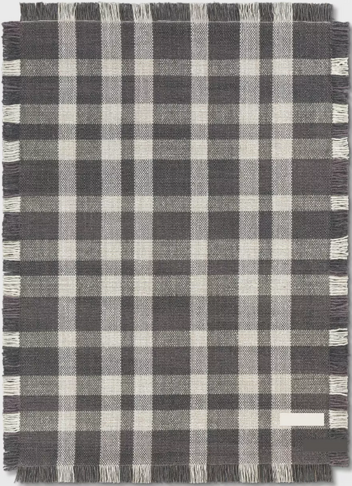 Size 5'X7' Color Gray Wool Buffalo Plaid Rug By - Threshold™