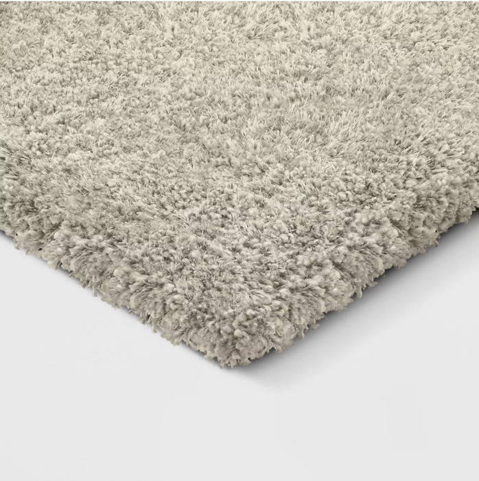 Size 7'X10' Color Tan Eyelash Woven Shag Rug - Project 62™