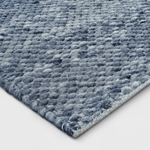 9'x12' Indigo Chunky Knit Wool Woven Rug By - Project 62™
