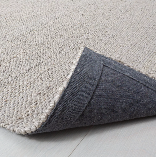 Size 5'x7' Bleached Jute with Fringe Rug Gray/Grey - Hearth & Hand™ with Magnolia