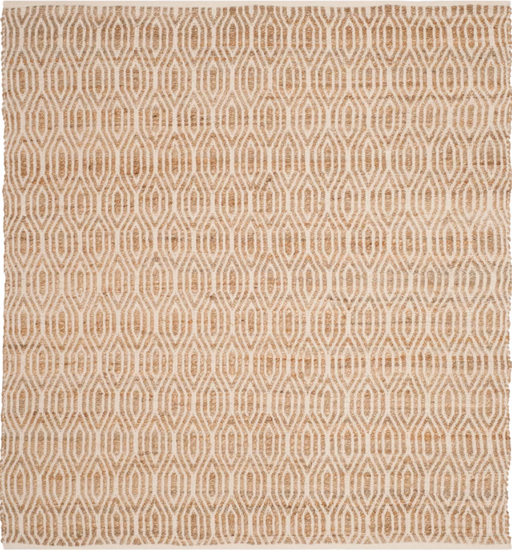 Size 6'X6' Color Natural Kian Geometric Area Rug - Safavieh