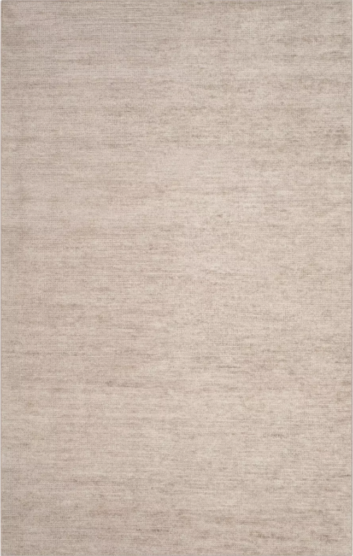 Size 5'X8' Color Gray/Grey Letitia Solid Knotted Rug - Safavieh