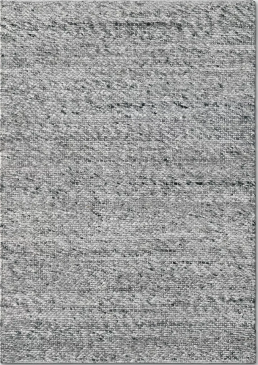 Size 9'x12' Color Gray Chunky Knit Wool Woven Rug - Project 62™