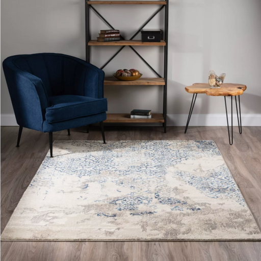 "Size 7'10""X10'8"" Color Navy Tivoli Venice Woven Rug - Addison Area Rug"